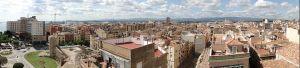 Vue panoramique de Tarragone, Catalogne, Espagne. Prise en 2009