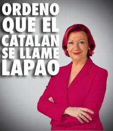 «J'ordonne que le catalan s'appelle LAPAO»